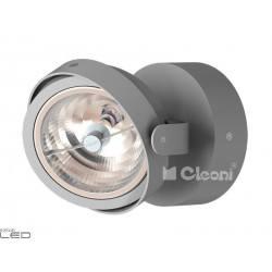 CLEONI Dedra T026E2Kd101 kinkiet srebrny mat