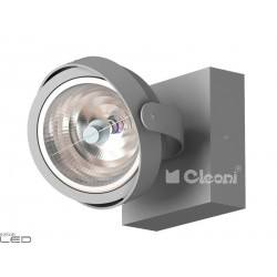 CLEONI Dedra T026H2Kd101 kinkiet srebrny mat