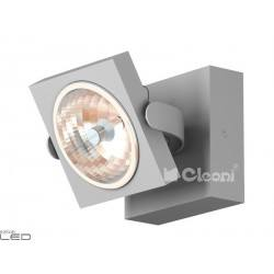 CLEONI Dedra T026H3Kd101 kinkiet srebrny mat