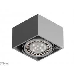 CLEONI Tuz T019C4Sd101 oprawa sufitowa srebrny mat