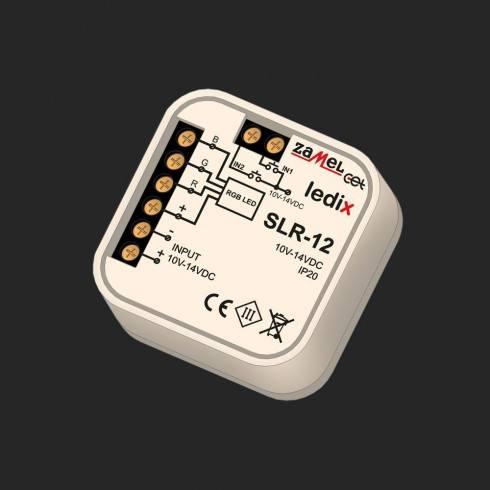 LEDIX SLR-12 Sterownik RGB przewodowy