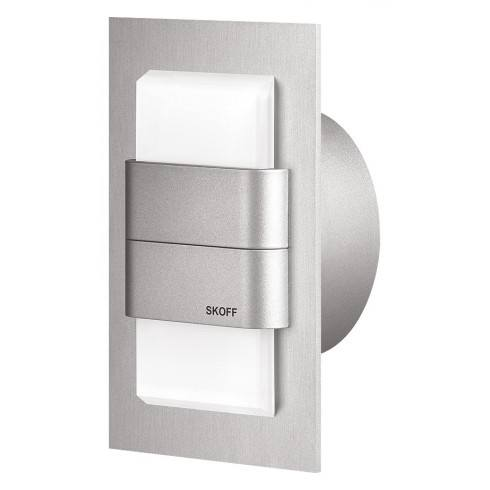 WALL DUO aluminum, stainless steel