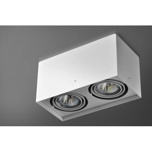 Aquaform surface mounted luminaire squares 50x2 230v 45812 for Ecksofa 2 50x2 50