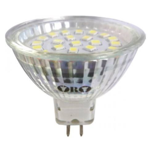 Bulb LED-POL MR16 24LED SMD warm white