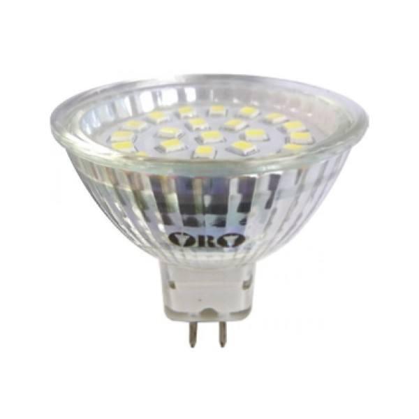 Zarowka Mr16 Led: Żarówka LED-POL MR16 LED SMD B.zimna 120 Stopni Zasilanie 12V