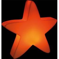 Lumenio Gwiazda LED 50cm pomarańczowy