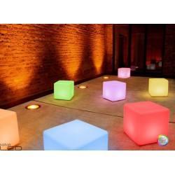 MOREE Stolik/pufa Cube LED Pro Accu 06-01-01
