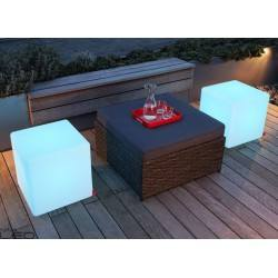 MOREE Table/Pouf Cube Outdoor LED 06-06-01-LED