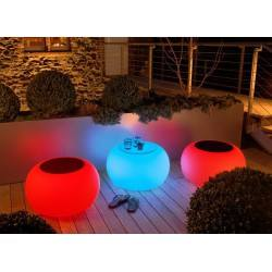 MOREE Table / pouffe Bubble Outdoor LED