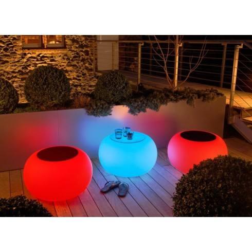MOREE Stolik/pufa Bubble Outdoor LED 15-02-01-LED