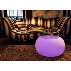 MOREE Stolik/pufa Bubble LED Accu Outdoor 15-04-02