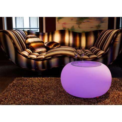 MOREE Stolik/pufa Bubble LED Accu Outdoor 15-04-02