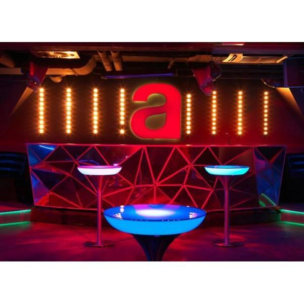 MOREE TABLE Lounge M 455575105 LED Accu 270345, 270355, 270375, 270 -> Table Salon Led