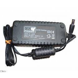 ZASILACZ LED WTYCZKOWY IMPULSOWY 1,2A 14.4W 12V DC