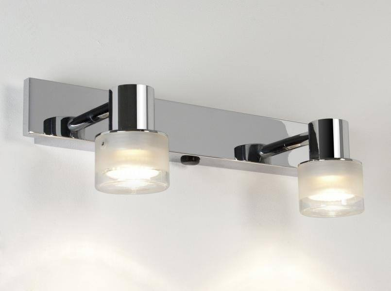 above mirror lighting. Astro Tokai Twin 6138 Bathroom Spotlight Over Mirror Light Chrome Ip44 Above Lighting