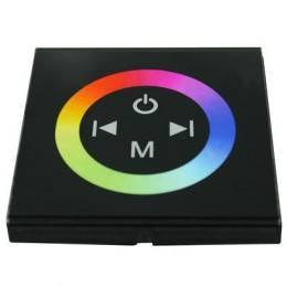 Dotykowy panel do taśm LED RGB ścienny