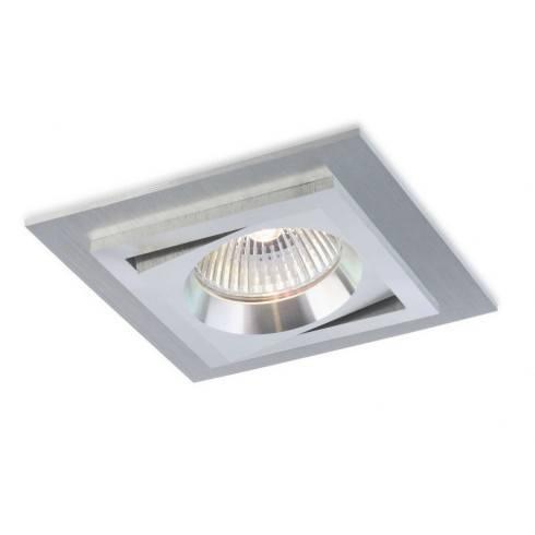 BPM SQUARE 3070 LED oprawa sufitowa aluminium