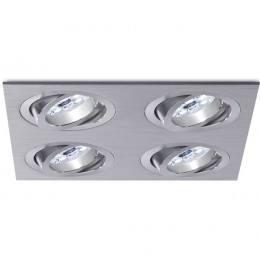BPM Aluminio Plata 3015 LED oprawa sufitowa