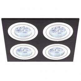 BPM 3057 MINI KATLI LED 4x10W, 4x7W black brushed