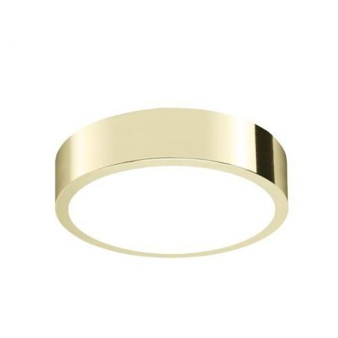 AURORA Plafon łazienkowy Satina Gold 1386