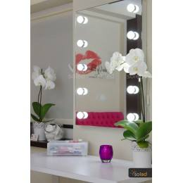 Lustro LED do wizażu 12x3W 100x80cm, 100x90cm, 110x80cm, 110x90cm