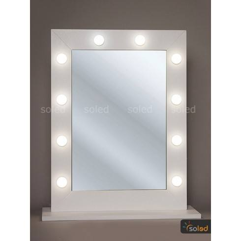 Lustro Do Makijażu Led Make Up Stand 80x60cm
