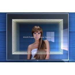Lustro 3D LED Infinity trójwymiarowe