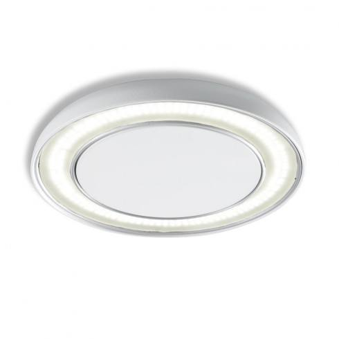 OLE! Plafond Halo 21W White matt, silver 22622