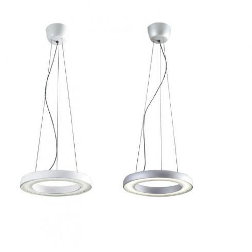 OLE!  hanging lamp Halo 21Wwhite matt, silver 22623