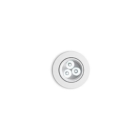 IDEAL LUX  Oprawa sufitowa Delta FI3 biały 62396