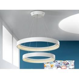 SCHULLER Lampa wisząca Cronos LED Double 152219