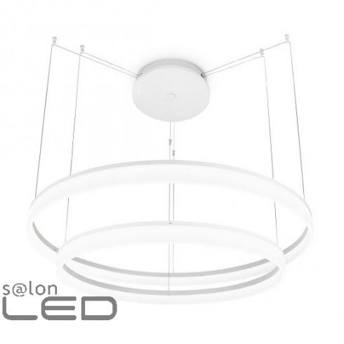 LEDS-C4 Spin lampa wisząca 3x4W 100cm biała