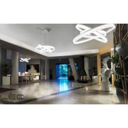 LEDS-C4 Circ 00-3649-BW-M3 Pendant lamp 00cm biała