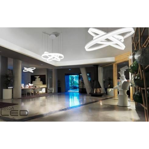 LEDS-C4 Lampa wisząca Circ 00-3649-BW-M3