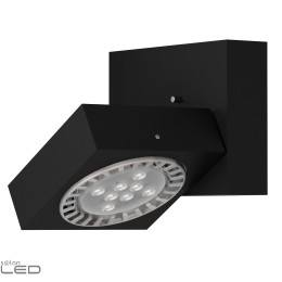 CLEONI Aspen T008C2Kd101 wall light silver matt