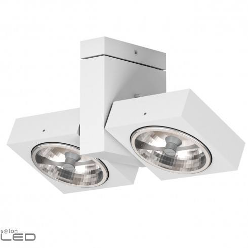 CLEONI Aspen T008D2Sd101 ceiling lamp silver matt