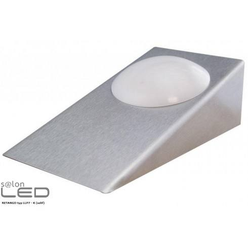 LED RETANGO LLP1 aluminium