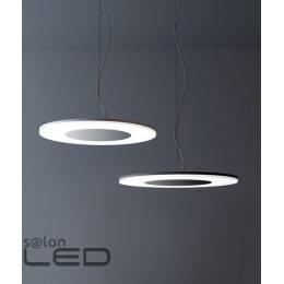 MANTRA lampa wisząca LED Discobolo 1L aluminium, czarny