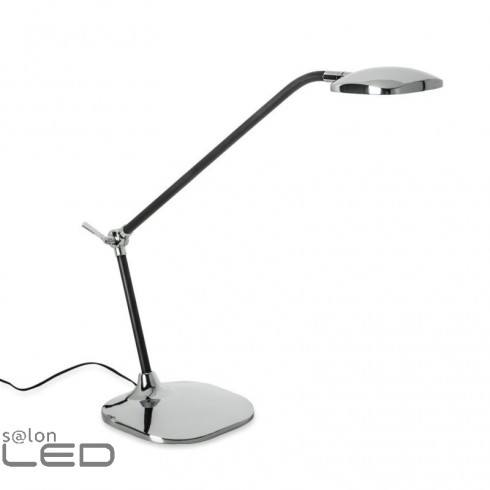 LEDS-C4 Lampka biurkowa QUEEN chrom/czarny, mosiądz antyczny/stary brąz