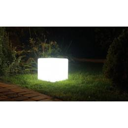 Cube LED white, RGB 50cm 230V 1 x E27