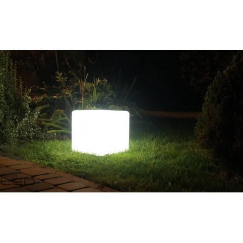 Lampa Kostka LED RGB