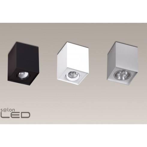 MAXlight Basic Square biała, czarna, aluminium