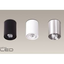 MAXlight Basic Round biała, czarna, aluminium