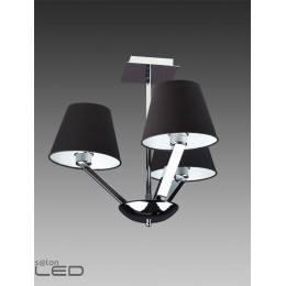 Lampa wisząca Maxlight ORLANDO 3 5103/3A WH/BK chrom/satyna, biały, czarny
