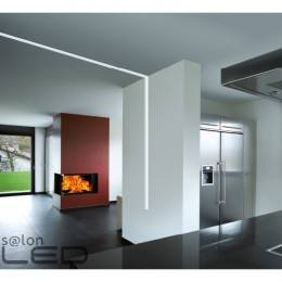 CONTINUOUS LINEAR RECESSED STRUCTURE MENORCA LED