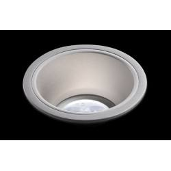 BPM Aluminio Plata 3029 LED oprawa sufitowa