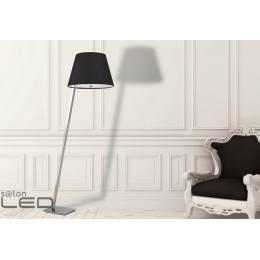 Lampa podłogowa Maxlight ORLANDO chrom/satyna, biały, czarny