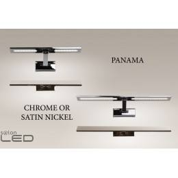 MAXlight Panama chrome, nickel satin