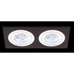 BPM MINI KATLI 3055 2x10W, 2x7W LED black brushed