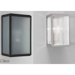 ASTRO Homefield Frosted black, nickel, brownexterior wall-light